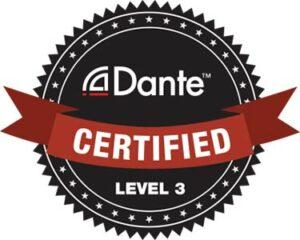 Image of Dante level 3 certification logo