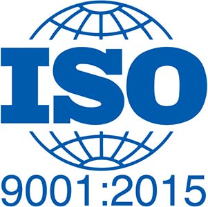 Image of ISO 9001-2015 certification logo