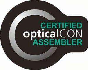Image of Neutrik opticalCON certification logo
