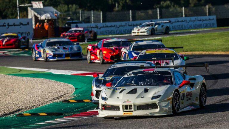 Image of Ferrari Challange race