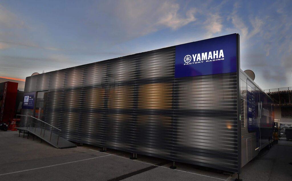 Image of Yamaha Motor Racing hospitality building